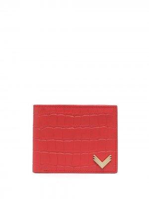 Складной кошелек Manokhi. Цвет: красный