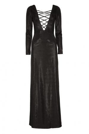 Платье Asia Azzaro. Цвет: черный
