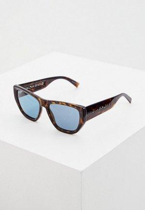 Очки солнцезащитные Givenchy GV 7202/S 086. Цвет: коричневый