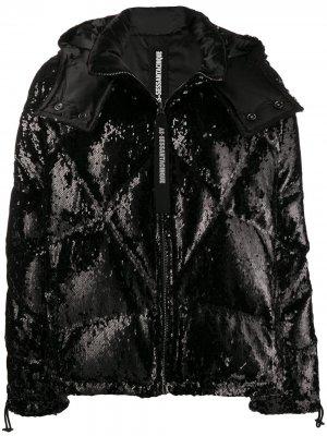 Куртка-пуховик As65. Цвет: черный