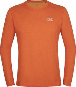 Лонгслив мужской Jack Wolfskin Sky Range, размер 44. Цвет: оранжевый