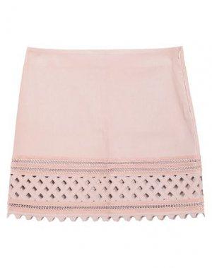 Мини-юбка JITROIS. Цвет: пастельно-розовый