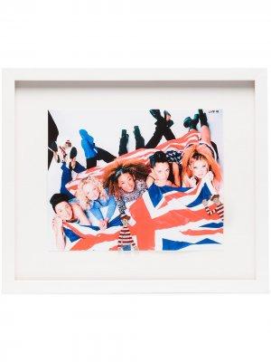 Декорированный постер Spice Girls (35 см x 41 см) Browns The Dan Life. Цвет: белый