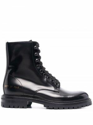Ботинки на шнуровке Common Projects. Цвет: черный