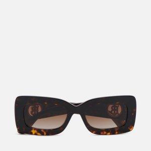 Солнцезащитные очки Astrid Burberry. Цвет: коричневый