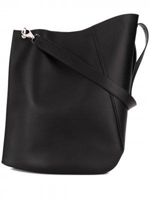 Большая сумка-тоут LANVIN. Цвет: черный