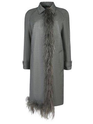 Классическое пальто PRADA
