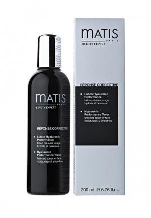 Лосьон для лица Matis тонизирующий с гиалуроновой кислотой 200 мл. Цвет: белый