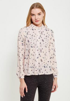 Блуза Befree BE031EWADMR6. Цвет: розовый