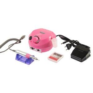 Аппарат для маникюра luazon lmm-01-02, 12 насадок, до 25000 об/мин, 15 вт, розовый Home