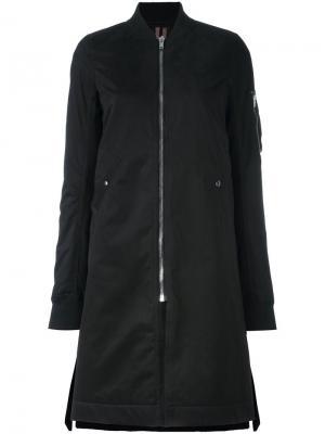Пальто бомбер Rick Owens DRKSHDW. Цвет: чёрный
