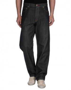 Джинсовые брюки FRESHJIVE. Цвет: синий