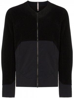 Arcteryx Veilance куртка на молнии с контрастными вставками Arc'teryx. Цвет: черный