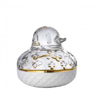 Шкатулка Canard Baccarat. Цвет: прозрачный