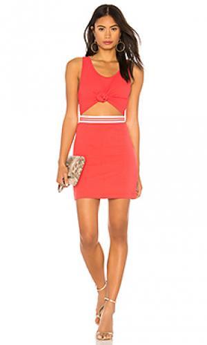 Платье KENDALL + KYLIE. Цвет: красный