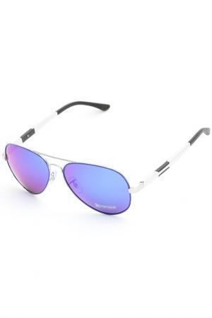 Очки солнцезащитные Arizona. Цвет: синий
