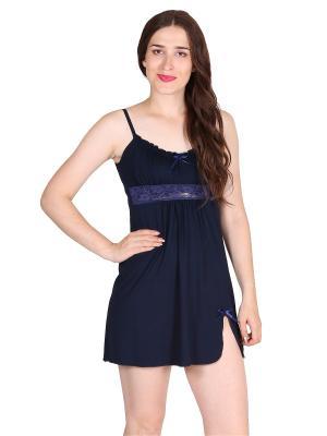Ночная сорочка Flip. Цвет: темно-синий