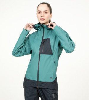 Ветровка женская Exposure/2™ Gore-Tex® Paclite Plus, размер 44 Mountain Hardwear. Цвет: голубой
