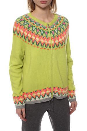 Пуловер Bogner. Цвет: салатовый