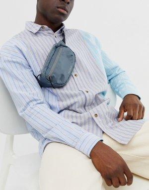 Серая нейлоновая сумка-кошелек на пояс из ткани рип-стоп Mi-Pac