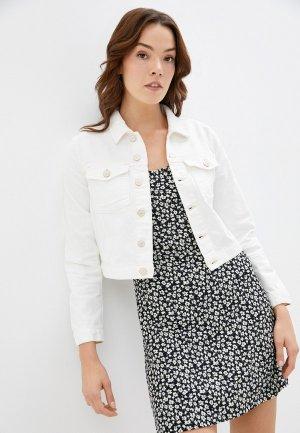 Куртка джинсовая Colins Colin's. Цвет: белый