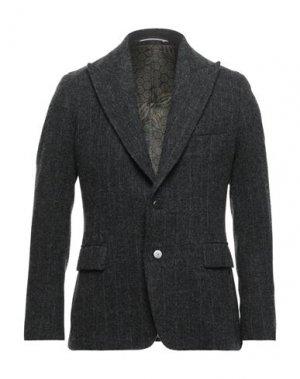 Пиджак MAESTRAMI. Цвет: свинцово-серый
