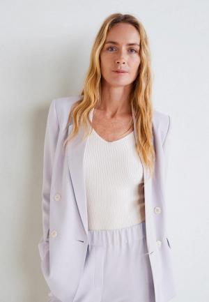 Пиджак Mango - MALVA. Цвет: фиолетовый