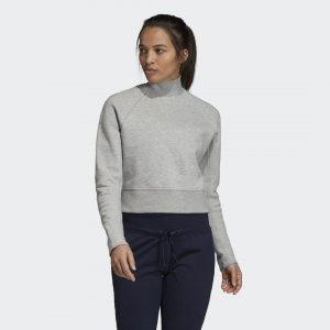 Джемпер VRCT Crew Sportswear adidas. Цвет: серый