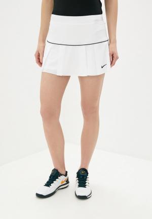 Юбка-шорты Nike W NKCT VICTORY SKIRT. Цвет: белый