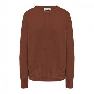 Кашемировый пуловер Allude. Цвет: коричневый