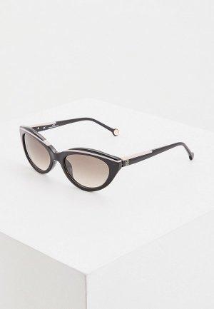 Очки солнцезащитные Carolina Herrera 833-700. Цвет: черный