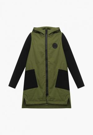 Куртка RionaKids WEAR. Цвет: хаки