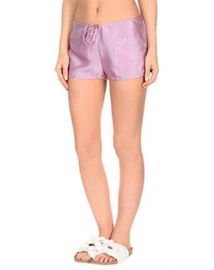 Пляжные брюки и шорты PIN UP STARS. Цвет: розовато-лиловый