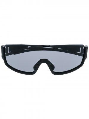 Солнцезащитные очки Rue St. Gulliaume Mask Karl Lagerfeld. Цвет: черный
