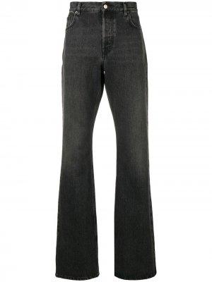 Слегка расклешенные джинсы свободного кроя Balenciaga. Цвет: черный