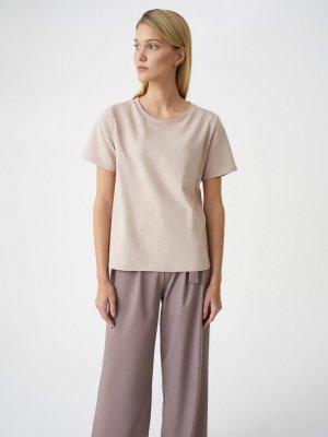 Набор из 2 футболок BASE GATE31. Цвет: светло–серый + светло–бежевый