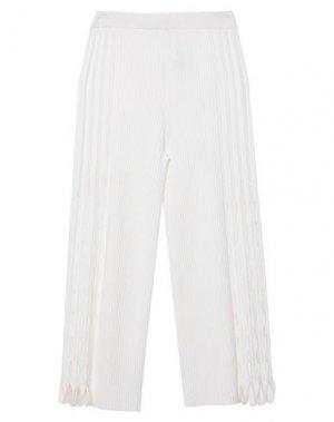 Повседневные брюки KENZO. Цвет: белый