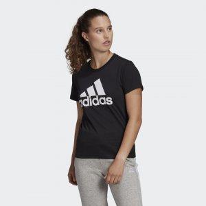 Футболка Essentials Logo Sportswear adidas. Цвет: черный