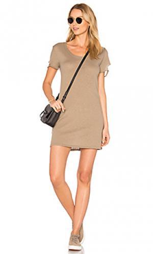 Платье-майка layla Nation LTD. Цвет: серо-коричневый
