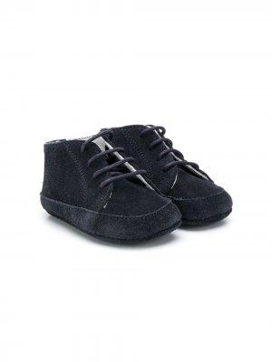 Туфли Ivory на шнуровке Gallucci Kids. Цвет: синий