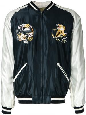 Куртка бомбер Suka Gold / Toyo Enterprise. Цвет: чёрный