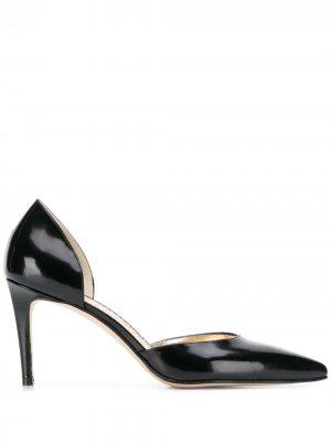 Туфли-лодочки с вырезными деталями Antonio Barbato. Цвет: черный