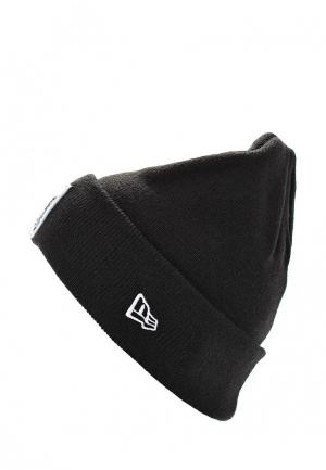 Шапка New Era 830 NFL CUFF KNIT OAKRAI. Цвет: черный