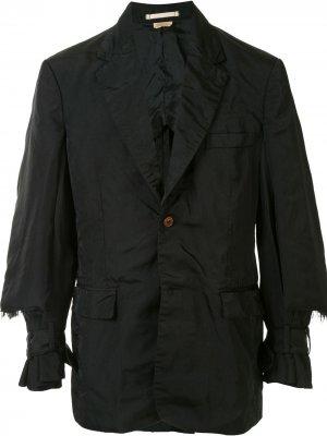 Raw edged layered jacket Comme Des Garçons Homme Plus. Цвет: черный