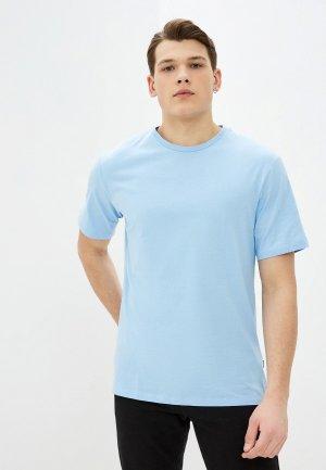 Футболка Baon. Цвет: голубой