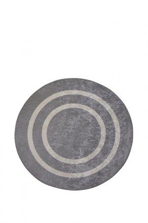 Коврик для ванной 100x100 см Chilai Home. Цвет: серый