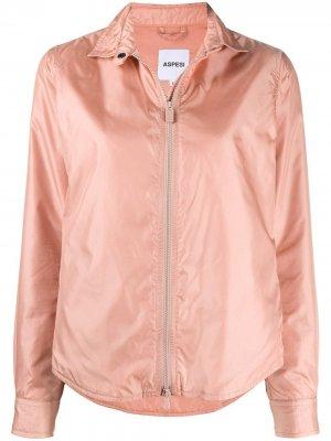 Куртка-рубашка на молнии Aspesi. Цвет: розовый