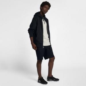 Мужская худи с молнией во всю длину Lab Collection Nike. Цвет: черный