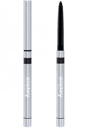 Водостойкий карандаш для глаз Phyto-Khol Star, оттенок № 1 Сверкающий черный Sisley. Цвет: бесцветный
