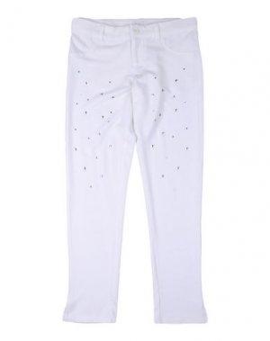Повседневные брюки J BE. Цвет: белый